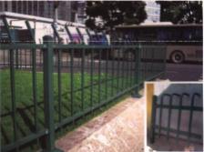 双胜锌钢草坪护栏