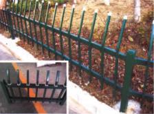 锌钢草坪护栏制作